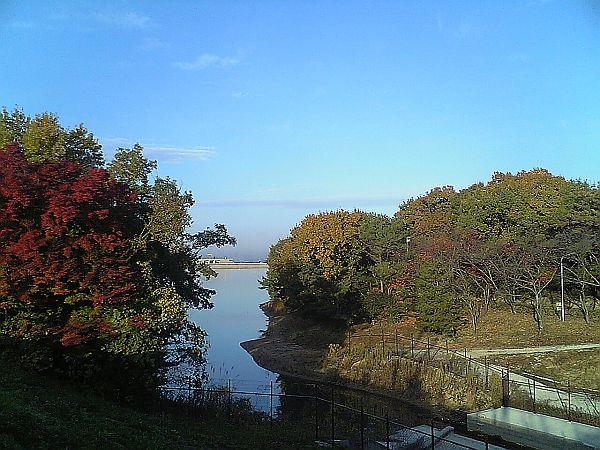 三好池愛知用水の水門