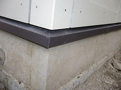 土台水切りGL鋼板