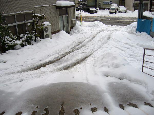 駐車場の融雪装置